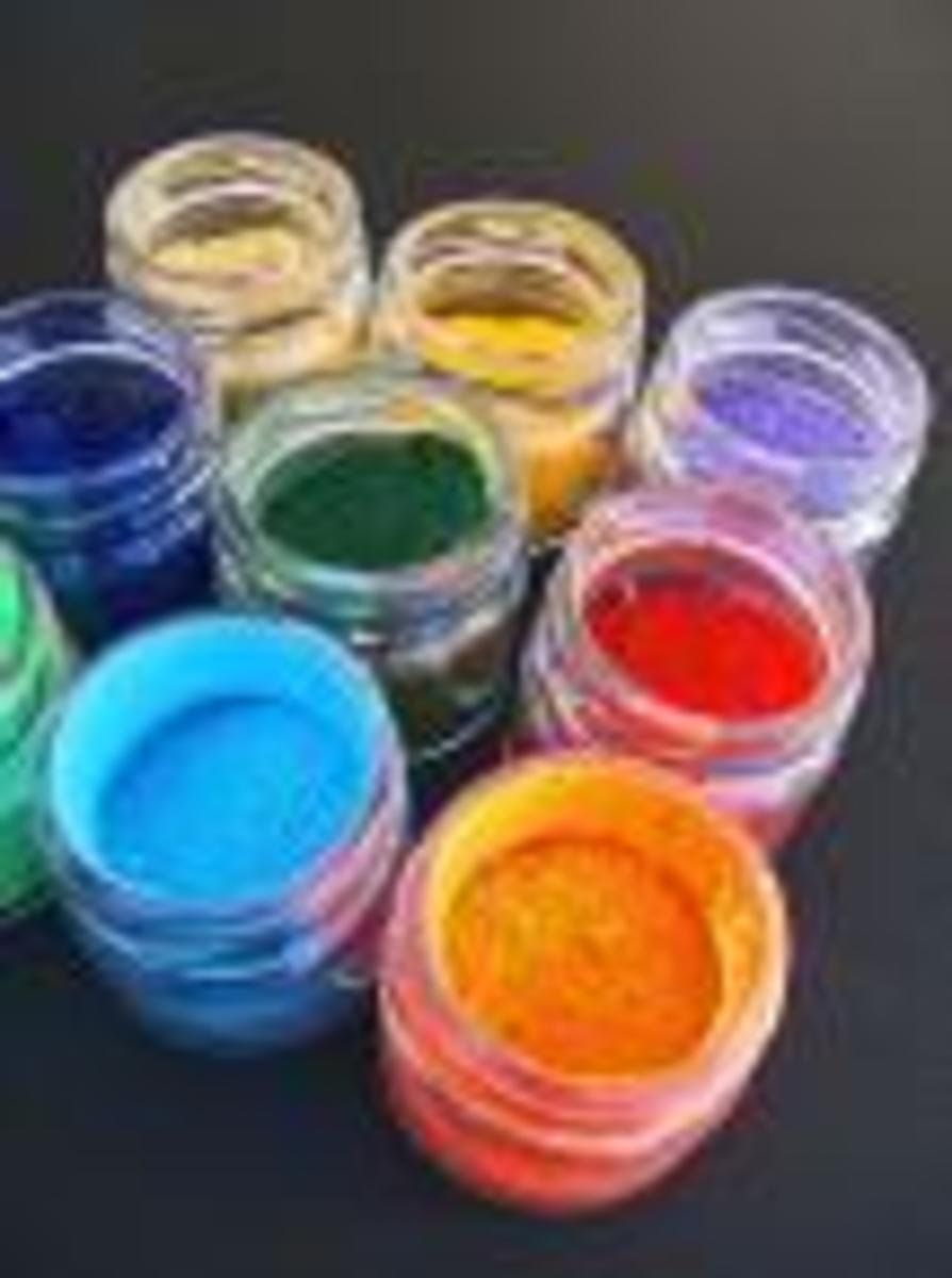 Pigments Set for Asdvanced Painters