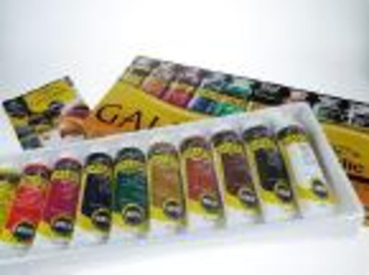 Acrylic Paint Set in Tubes