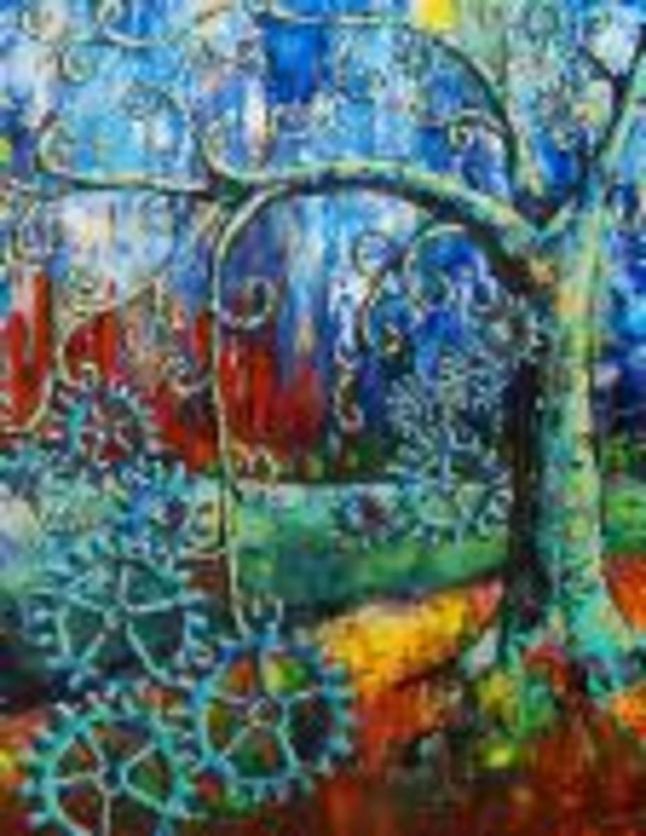 palette painting by Anniewalker