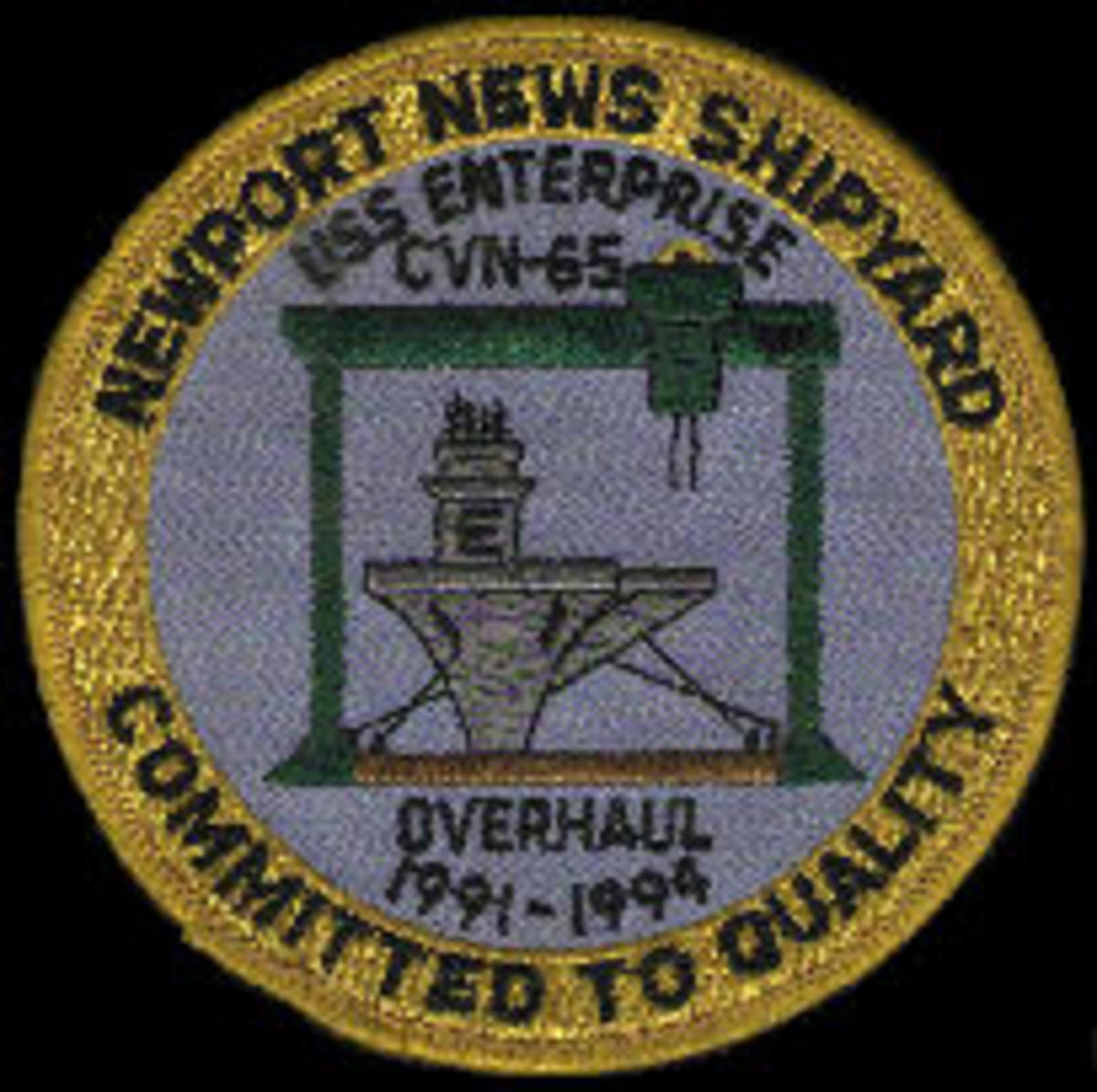 USS Enterprise SOAR patch