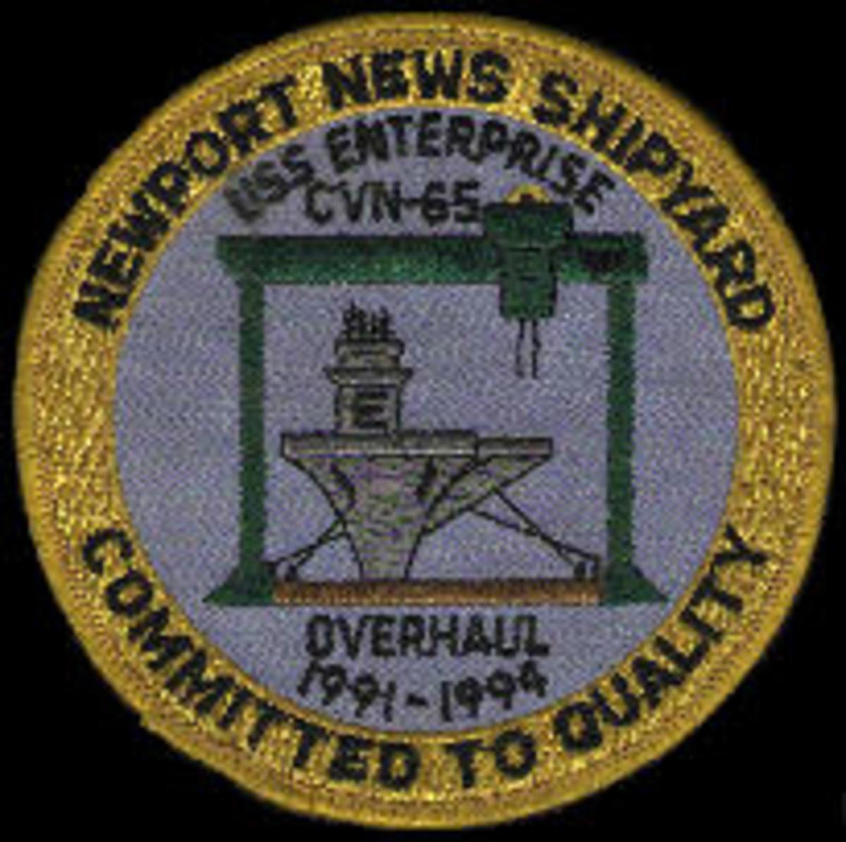 USS Enterprise SOAR patch
