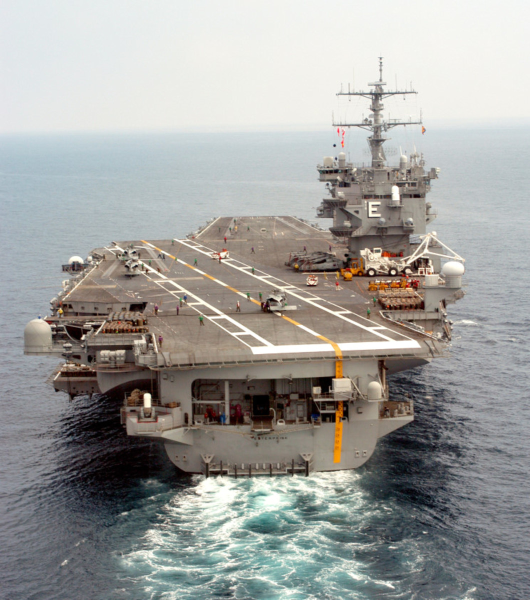 USS ENTERPRISE (CVN-65): A LOOK BACK