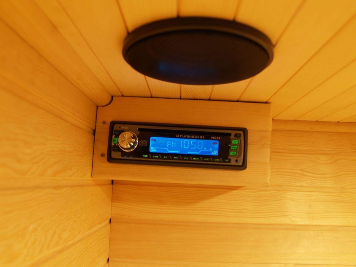 AM/FM/CD sound system
