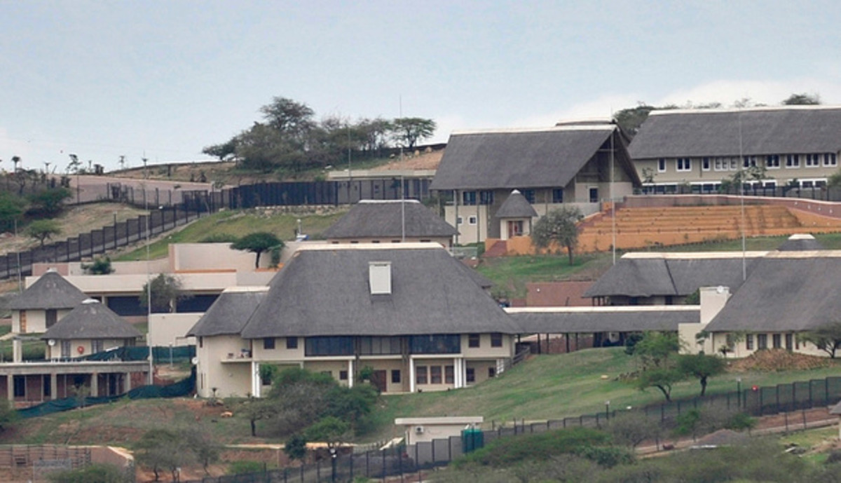 A Closeup of Zuma's Estate: Public Works Minister Thulas Nxesi has defended the department's plans to spend R203-million on upgrading President Jacob Zuma's homestead in Nkandla, saying this was in line with the ministerial handbook. But a look at th