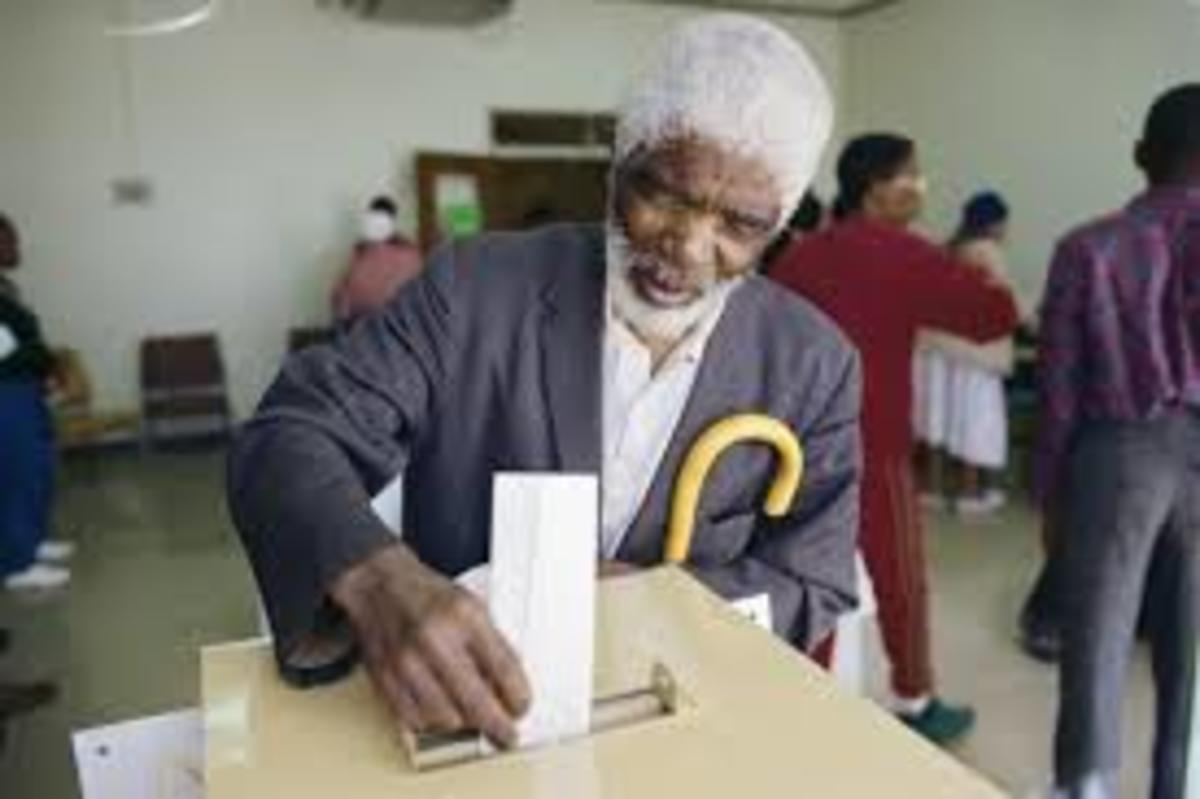 The elections this year also commemorate South Africa's 20th anniversary as a democratic country. South Africa as a country has progressed over the last 20 years since breaking the chains of apartheid in 1994.
