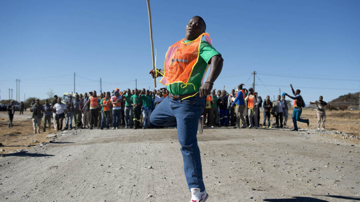 Miners' strikes and other types of strikes threaten the stability and hold that the ANC has on the poor of South africa