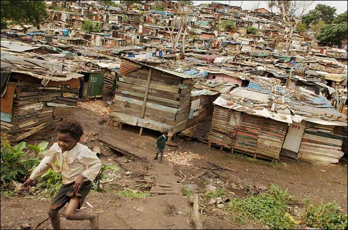 Slums In South Africa: Those empty promises come in the form of intermittent electricity, little to no healthcare, scarce running water, limited access to education, and inadequate housing. With more than 1 million people living in tin shacks and squ