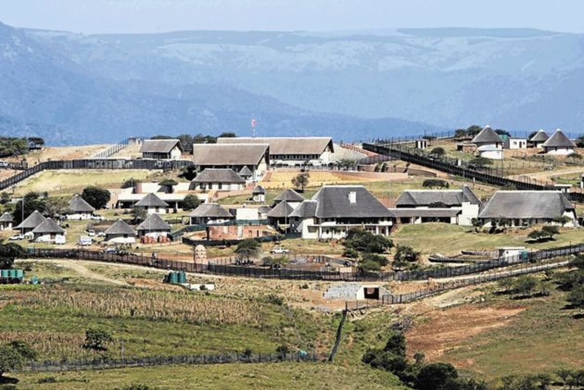 Zuma's R200 million Homestad: Zuma allegedly paying R800 rent for 8.9 hectare compound.   The sprawling compound in Nkandla, which is already a subject of a pending investigation by Public Protector Thuli Madonsela, was reportedly built on 8.9 hectar