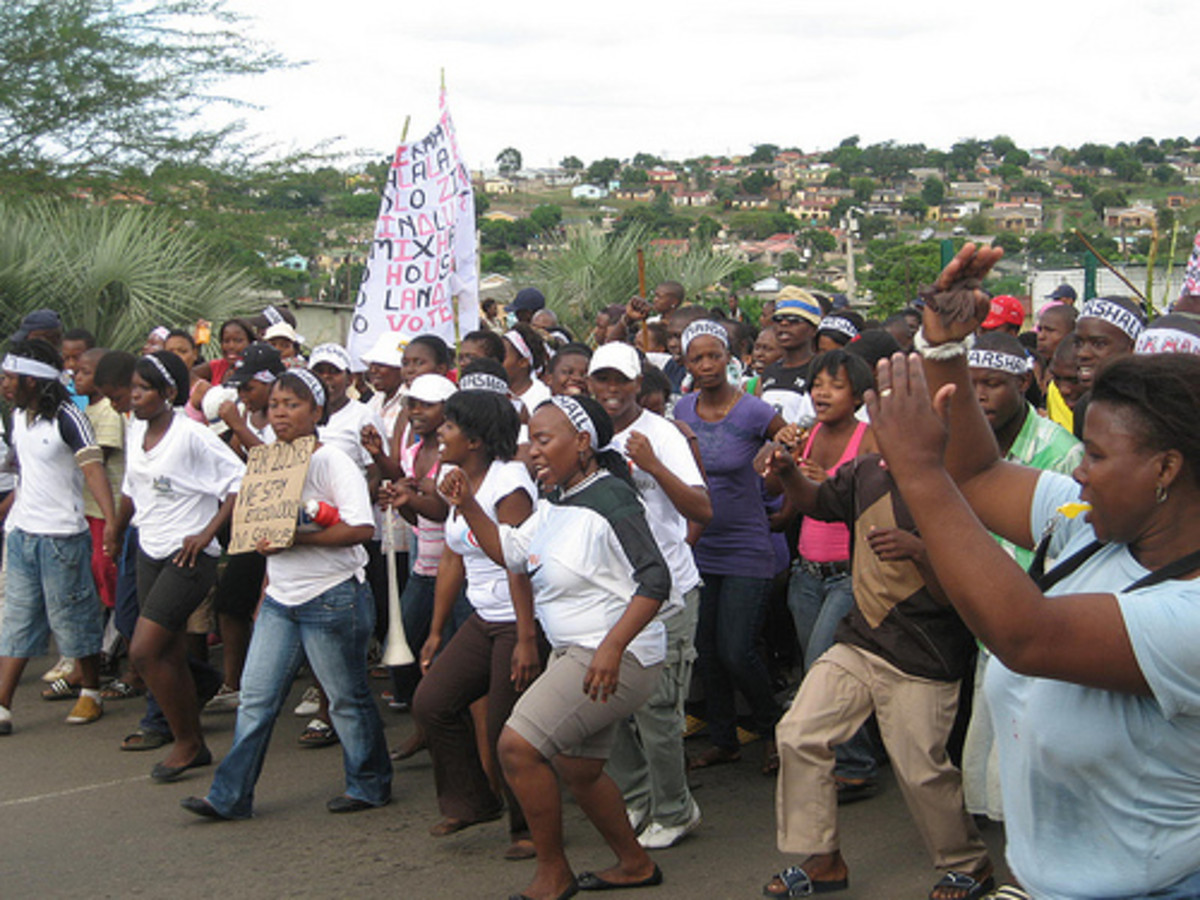Siyanda March(We Are Increasing/Multipying March)