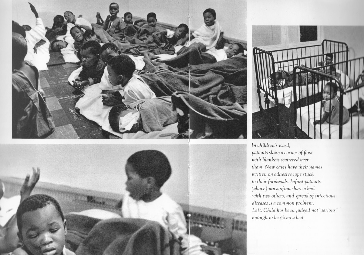 """Children were living in hospitals under crowded conditions and were under constant attack by the Apartheid regime s Botha has pointed out in his """"Why we hate Blacks"""" speech within the Hub."""