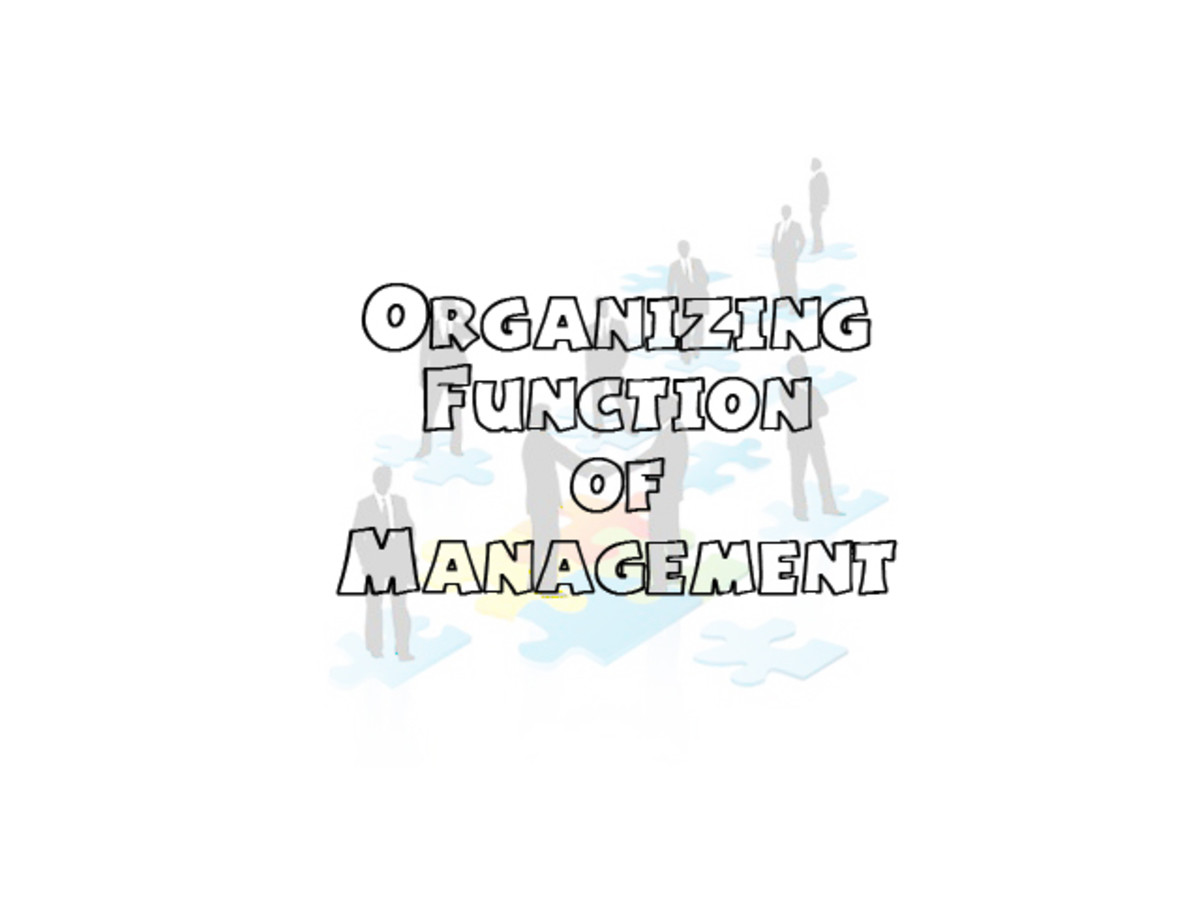 Organizing Function of Management