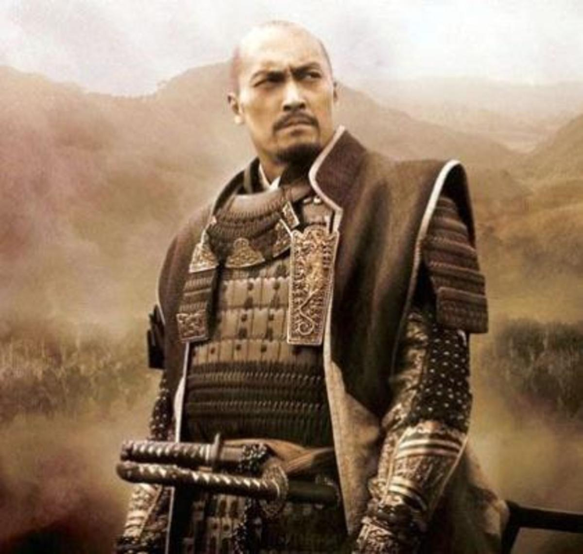 KEN WATANABE, a Japanese but a well known actor too.