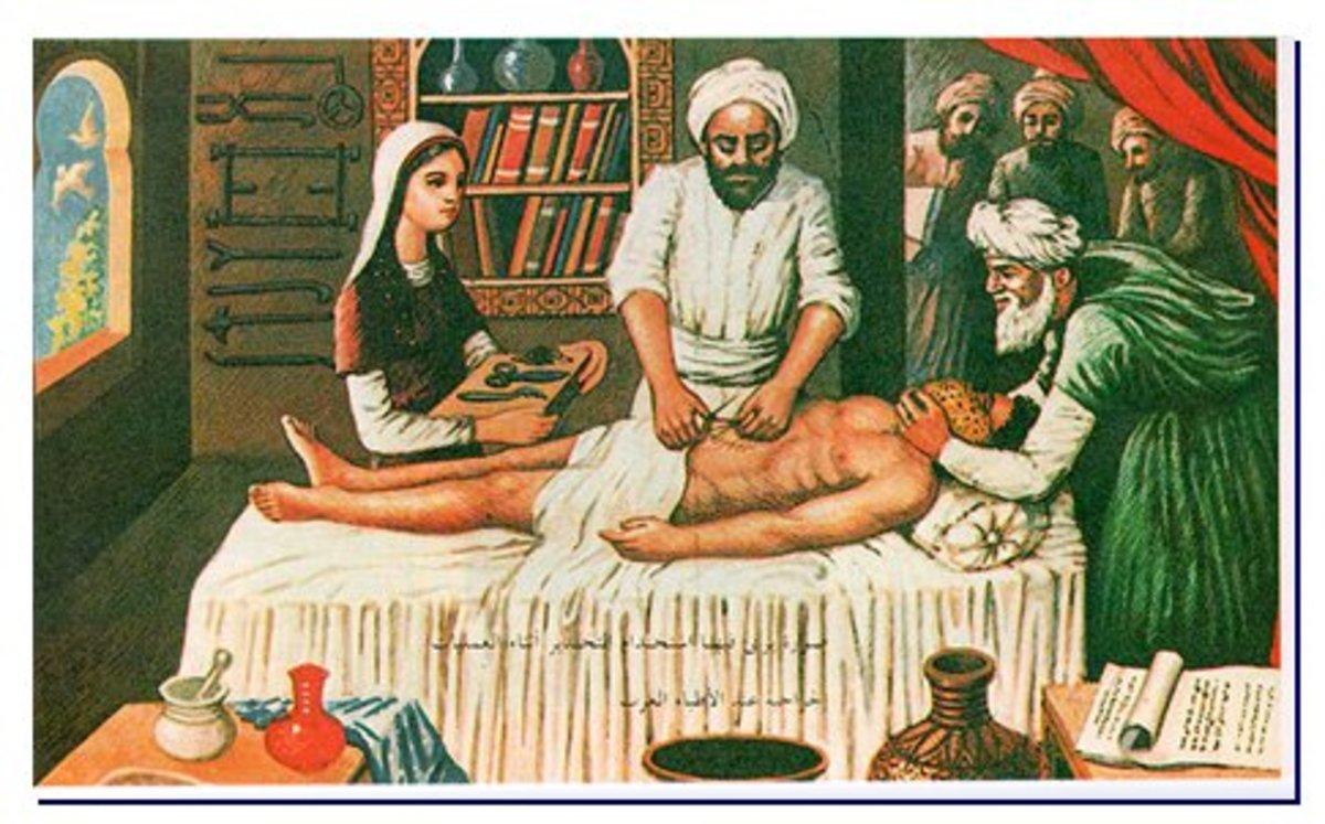 Illustration in Islamic Medical Text