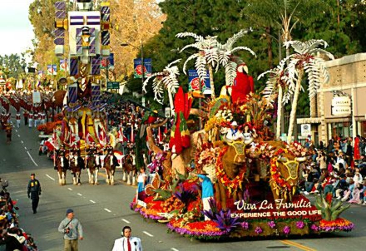 If you can climb out of bed the next day, catch the Tournament of Roses Parade