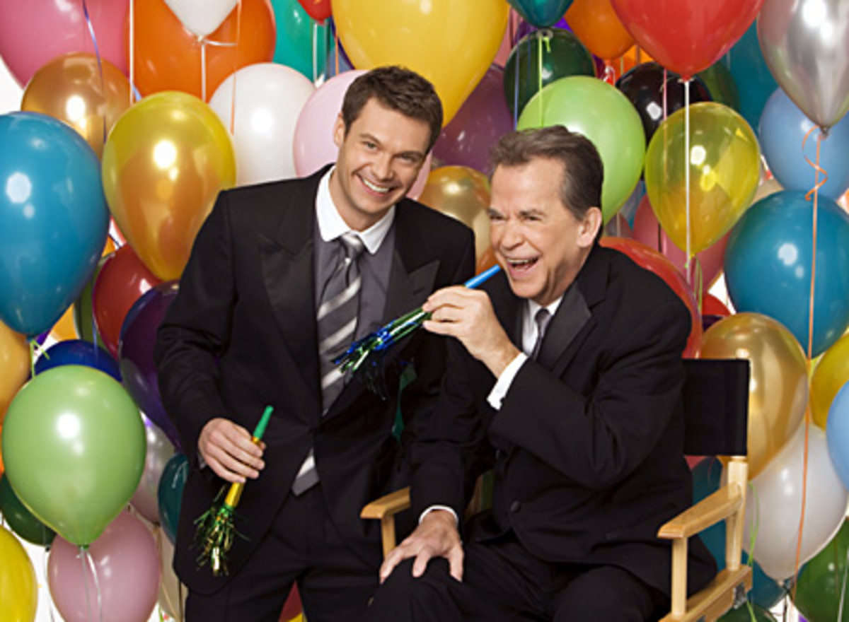 As does New Year's Eve icon Dick Clark
