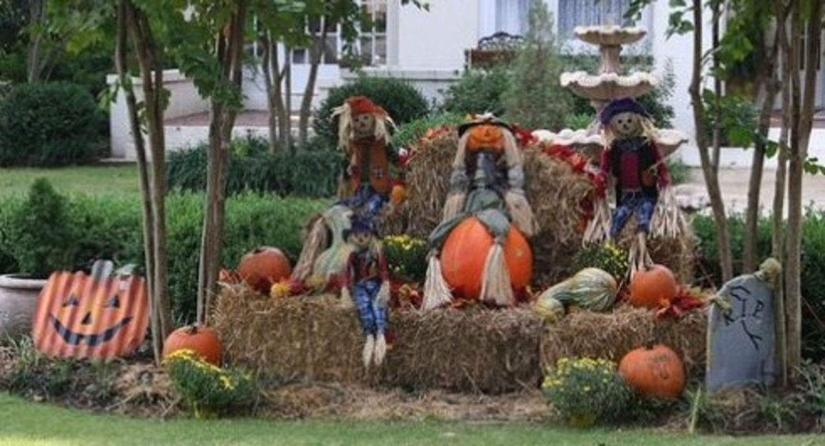 Outdoor Fall Country Decorating Ideas