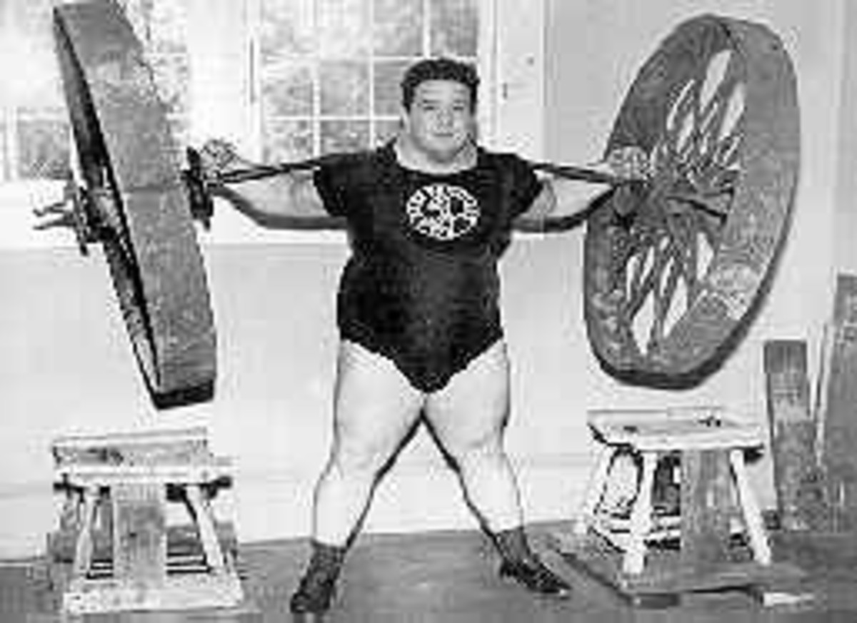 Strongest man to have ever lived; Paul Anderson