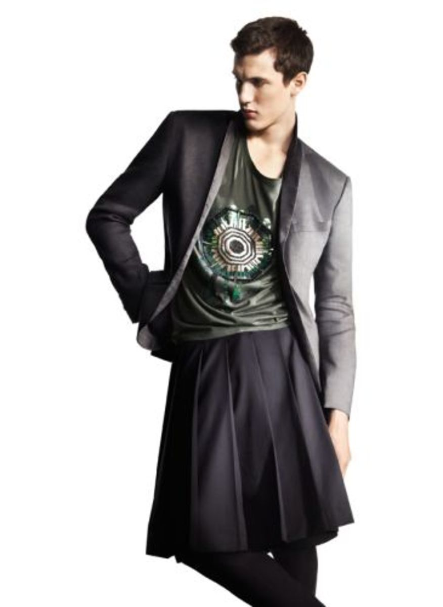 This skirt for men is from H&M's Spring 2010 collection.