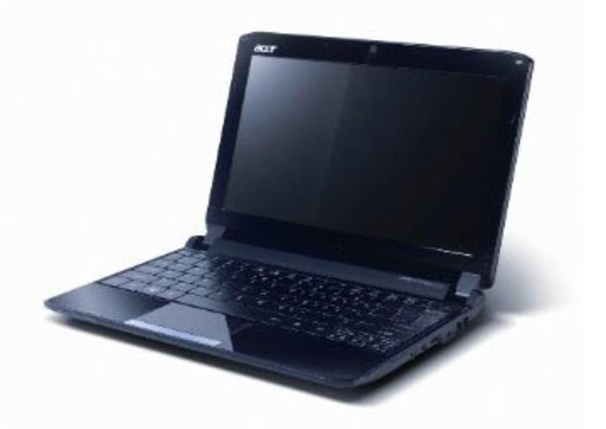 Acer AO532h-2588 10.1-Inch Onyx Blue Netbook