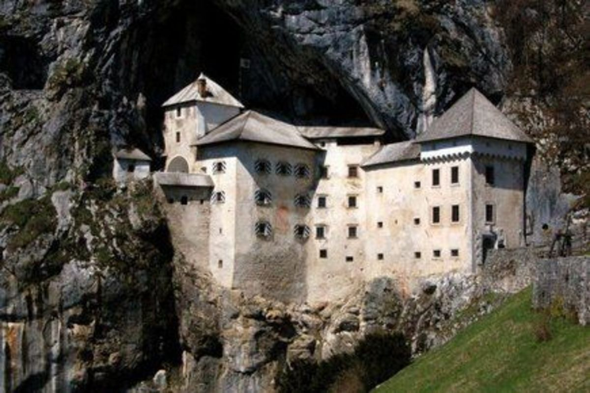 This castle is located in Slovenia.