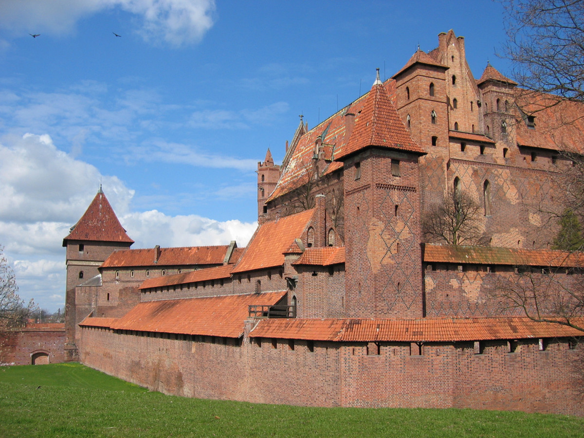 This castle is located in Prussia.