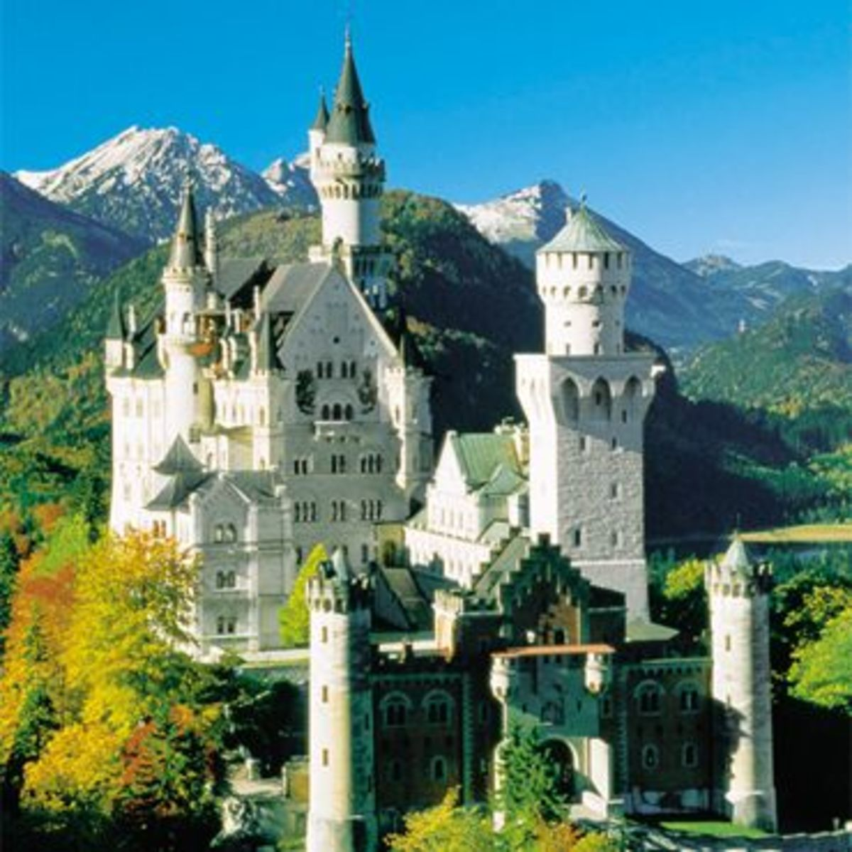 This castle is located in Germany.