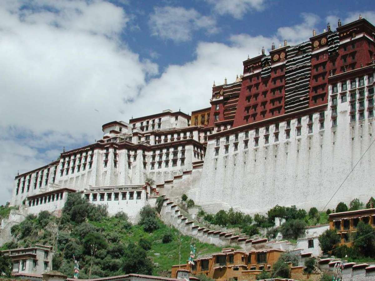 This castle is located in Tibet