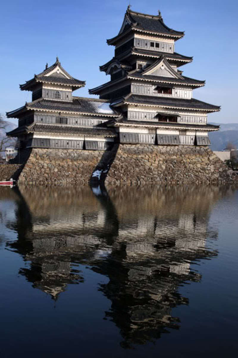 This castle is located in Japan.