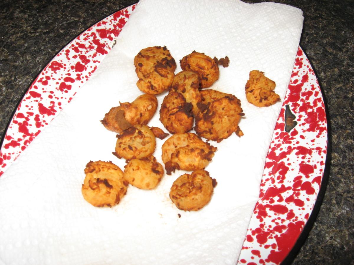 We love fried shrimp!