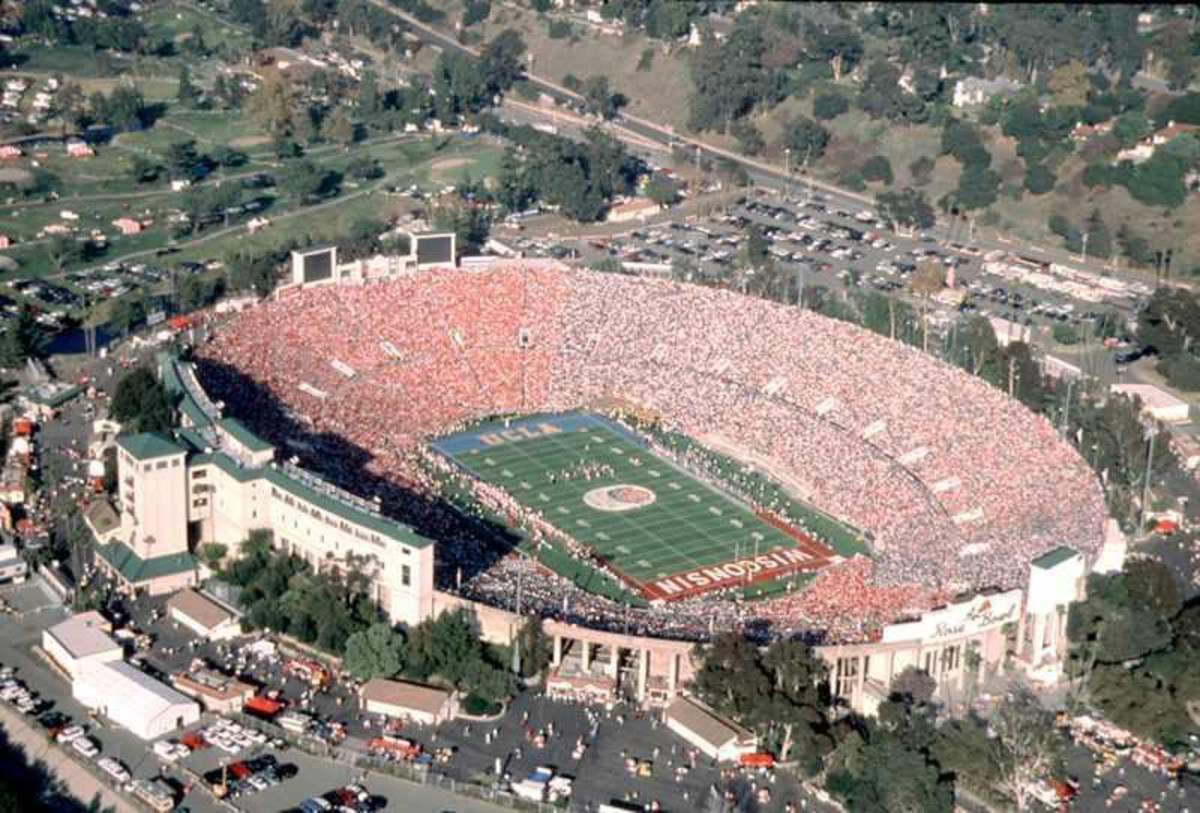"And then comes the Rose Bowl, the ""Granddaddy of 'em All"""