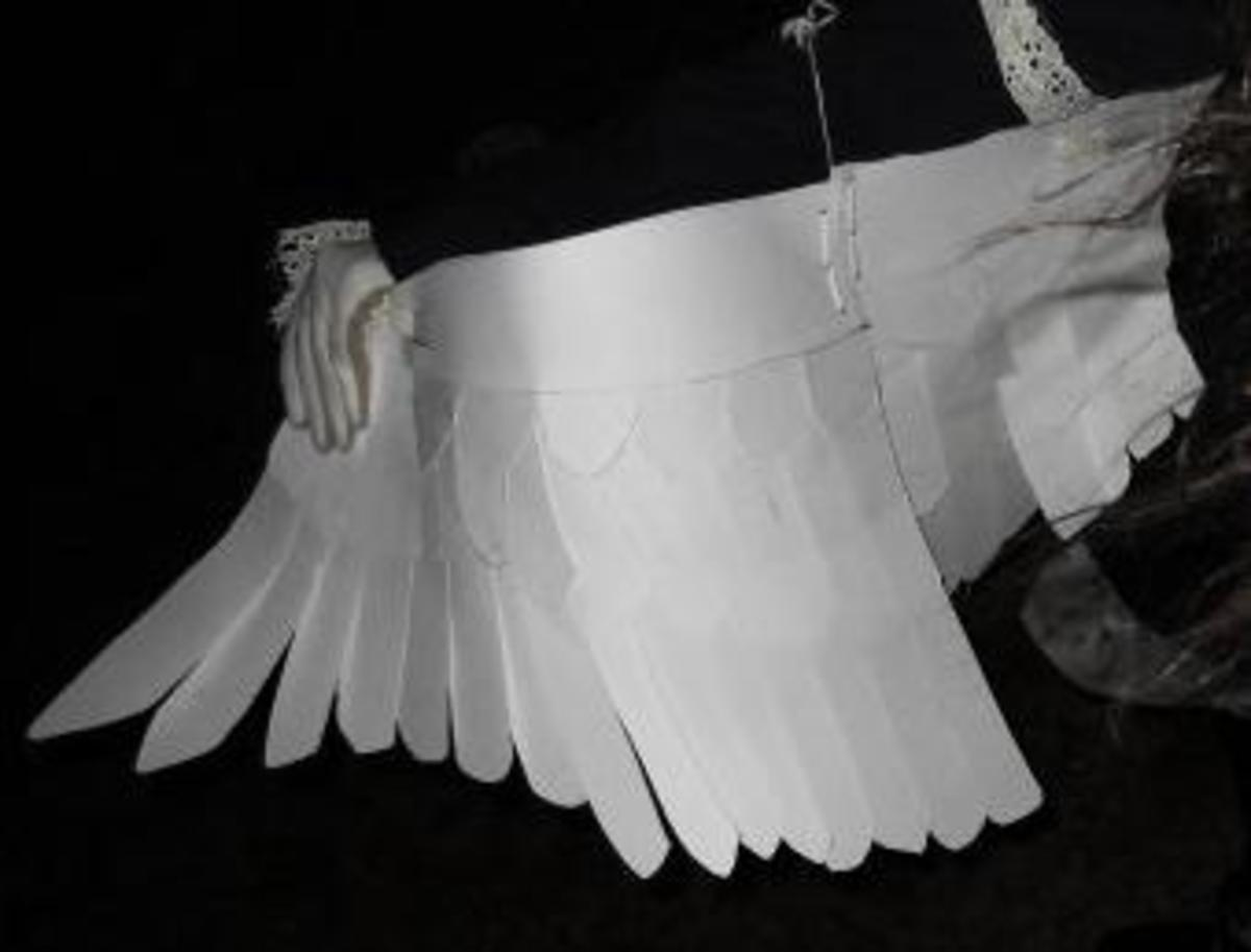 How to Make Life-Size Paper Wings