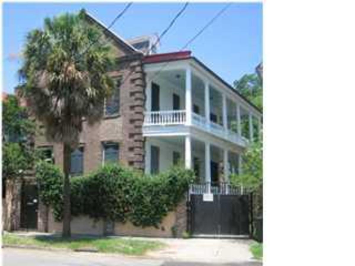 My grandmother's childhood home in Charleston.