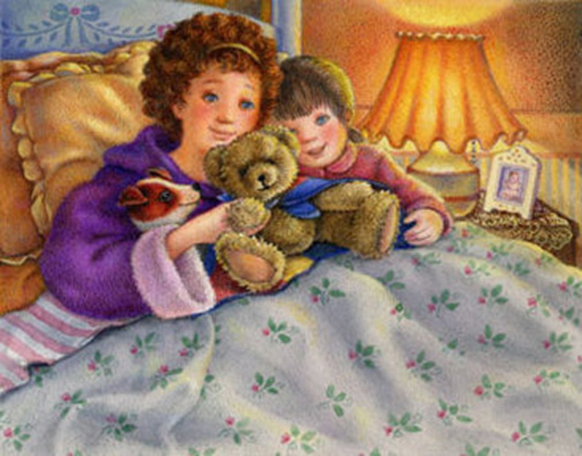 How to Make Up Your Own Bedtime Stories! You're kids will love It!
