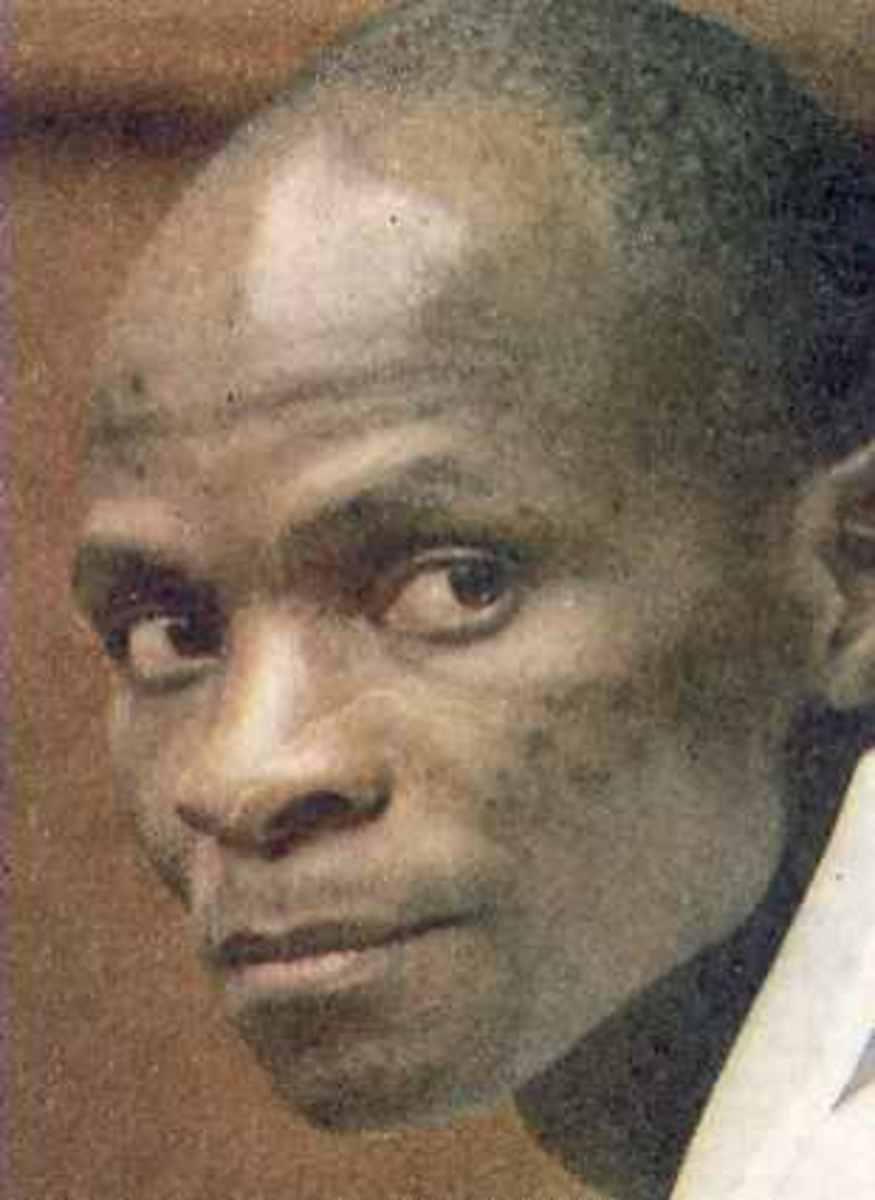 Ananias Mathe. Photo: Pretoria News 9 December 2009