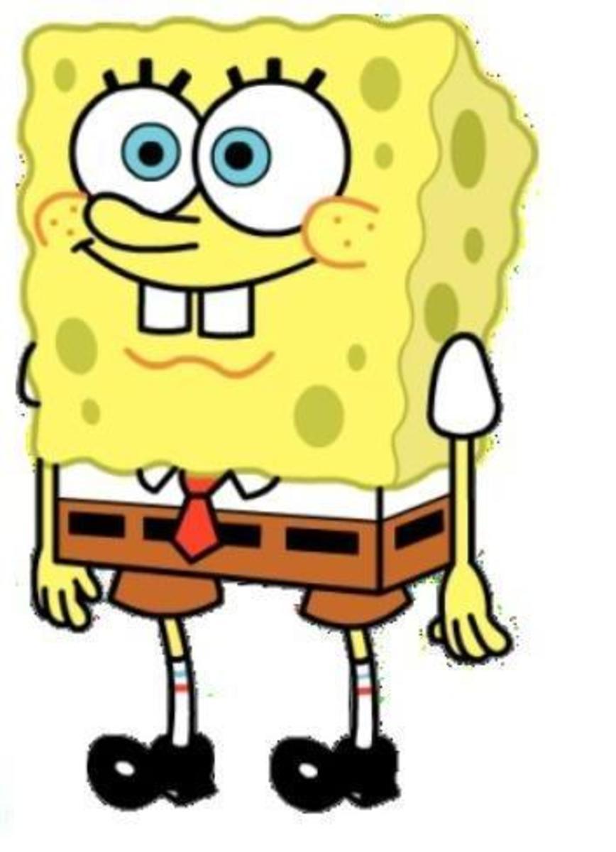 How to draw Spongebob Squarepants, part 1