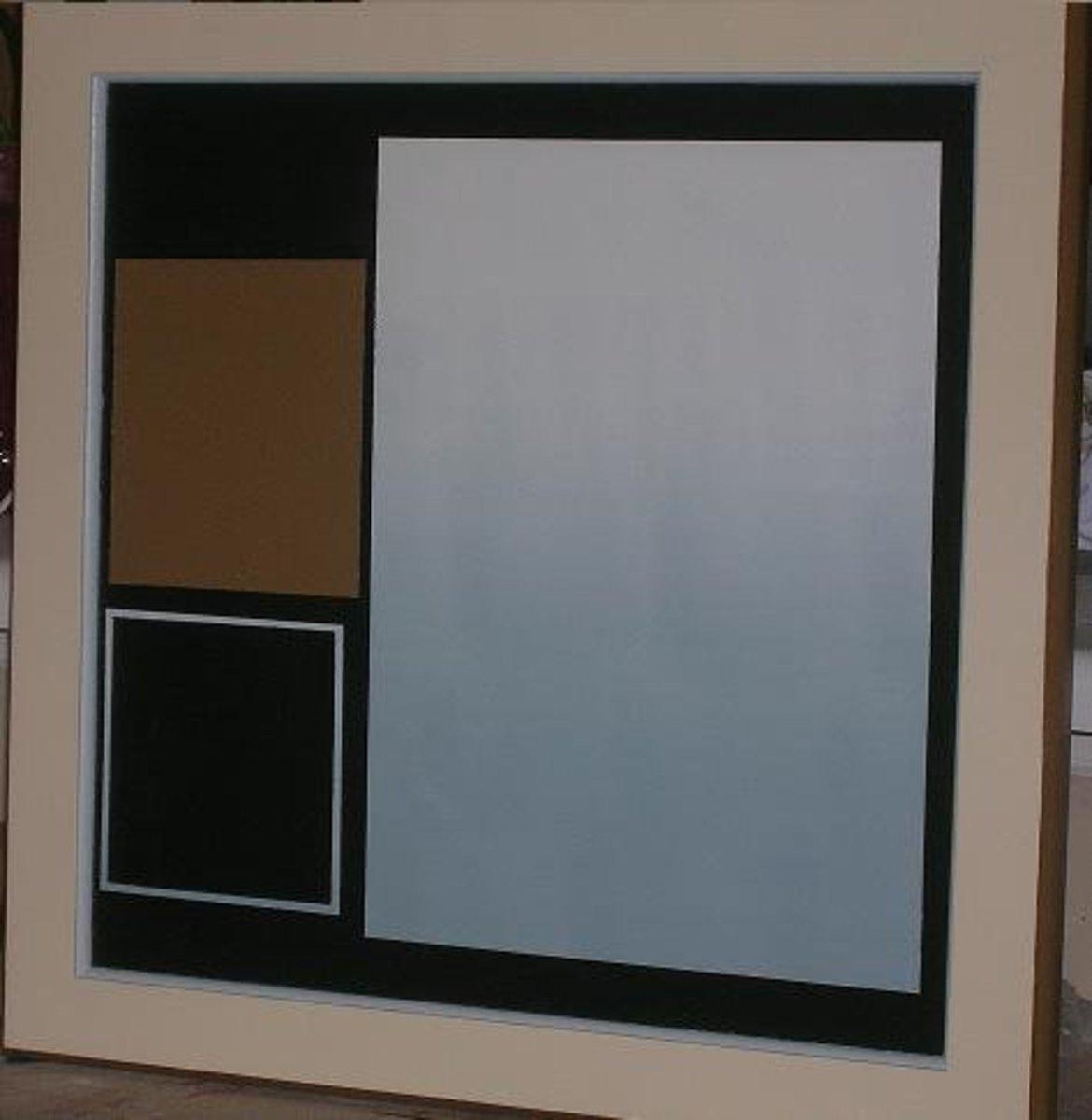 """Cabinet door sample """"retro"""" artistic finish"""
