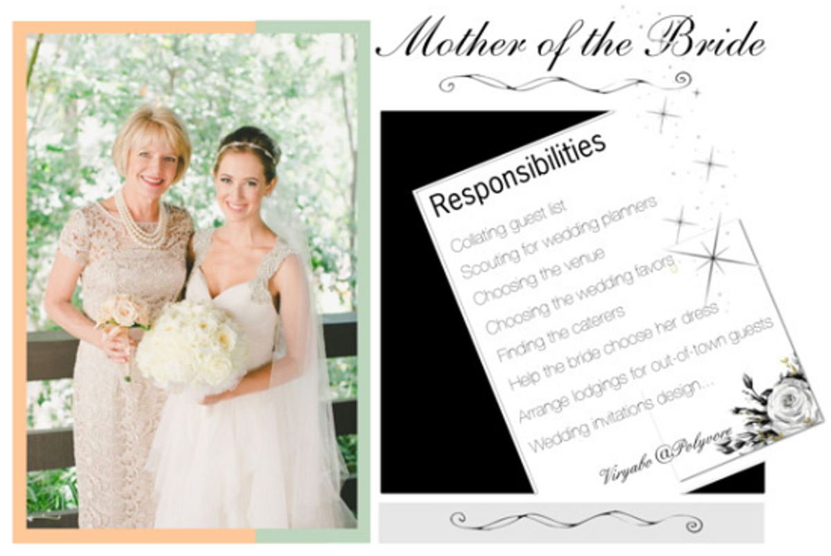 Role And Responsibilities Of Mothers Of The Bride