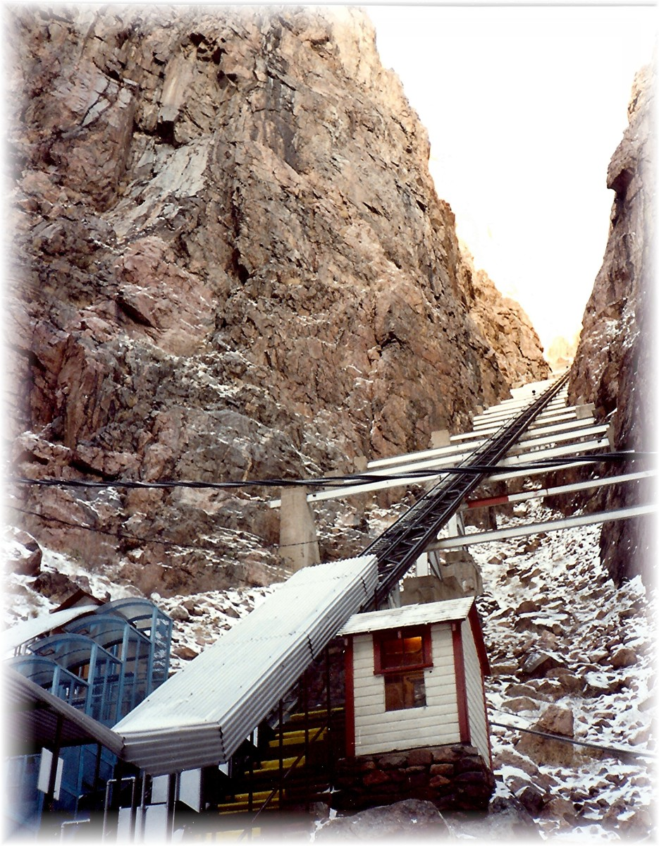 Incline Railway at Royal Gorge