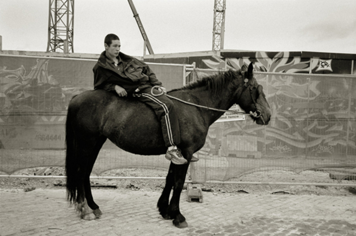 Urban horse riding and urban cowboys in Dublin