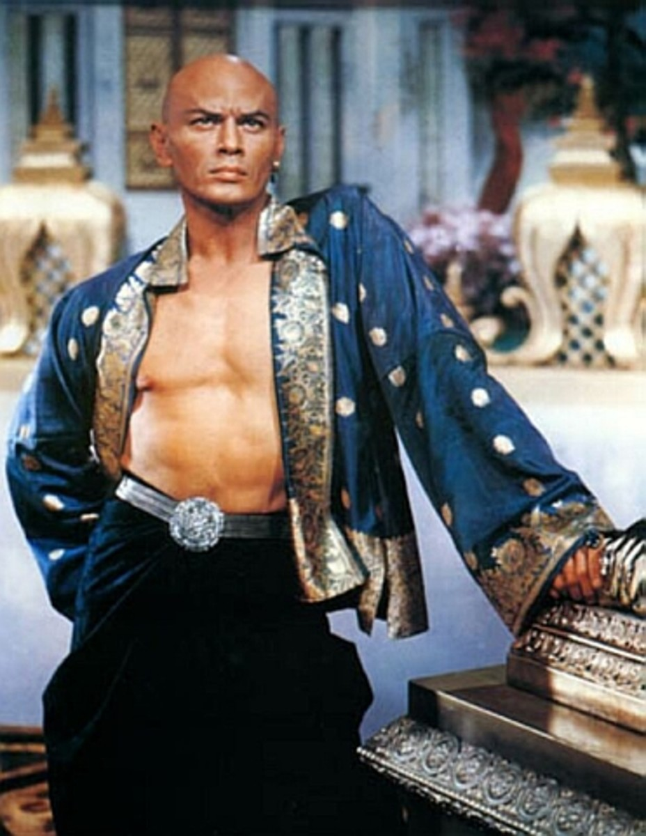 Yul Brynner in The King & I