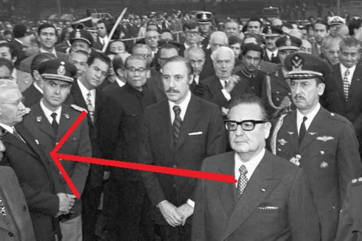 No surprise here...Someone I know VERY well standing in the photograph with the red arrow aimed at him. INTERESTING POSE DOCTOR!