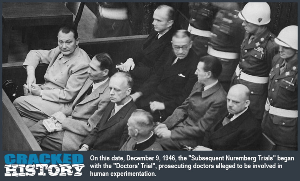 There was ONE missing doctor at the Nuremberg trial and it was this man DR. Death Nazi Aribert Heim. They protected him.
