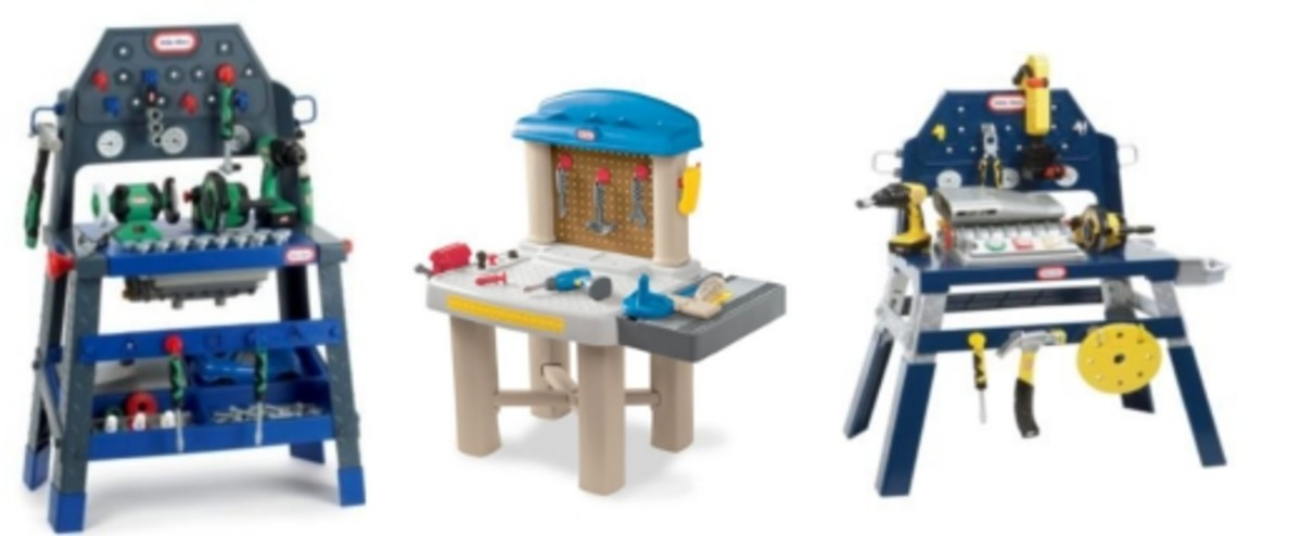 Little tikes workbench hubpages for Little tikes 2 in 1 buildin to learn motor workshop