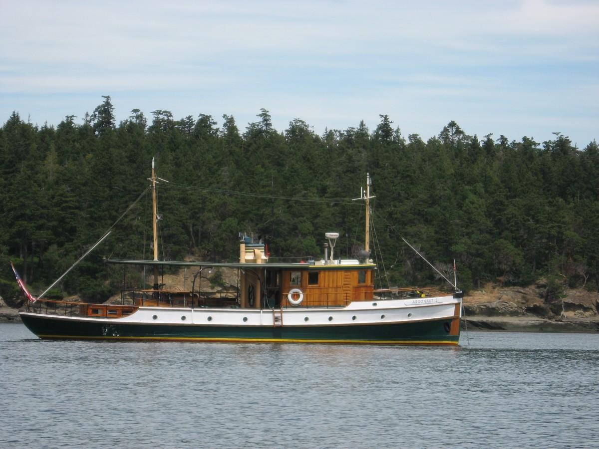 Living Aboard Argonaut II: A Classic Wooden Yacht