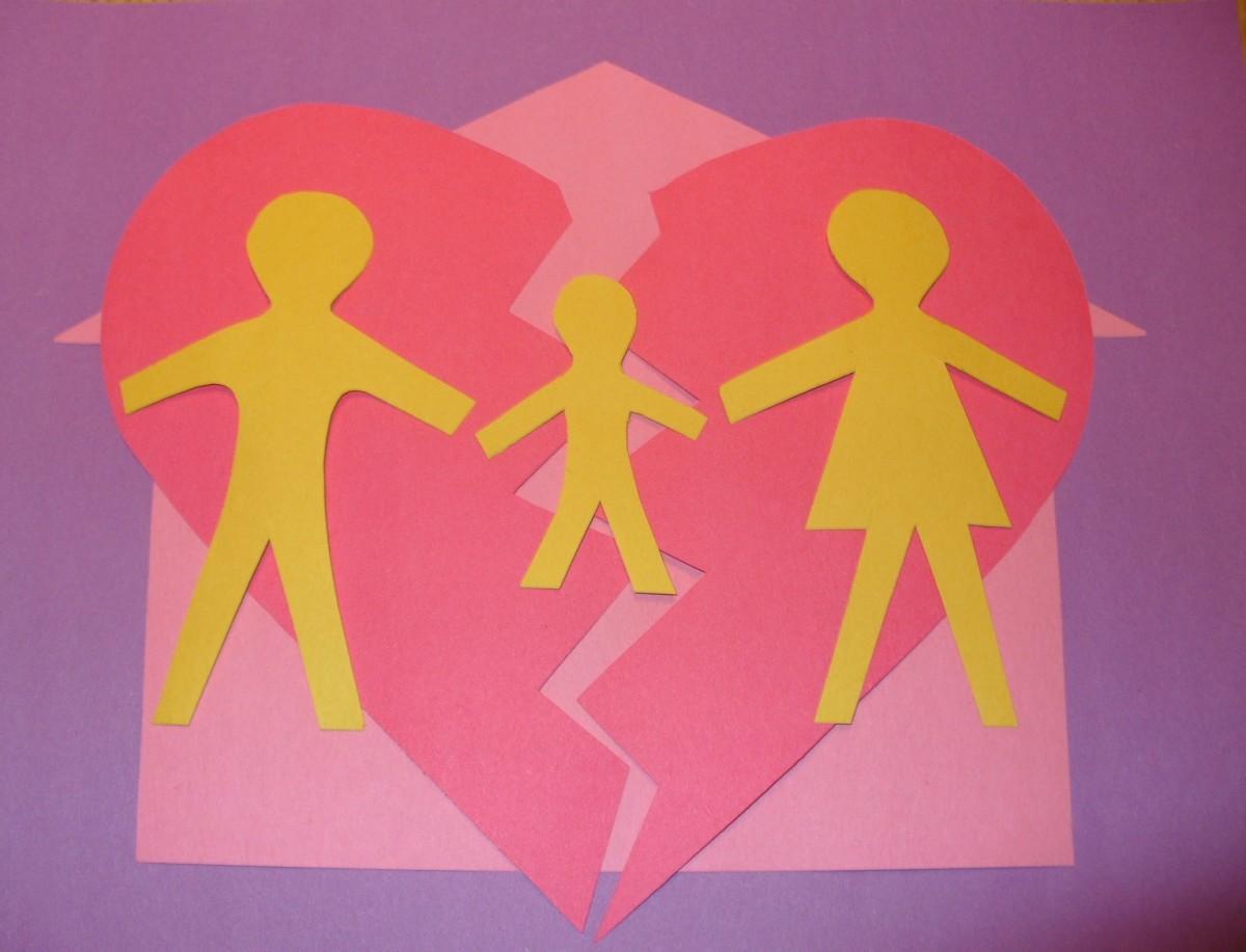 Divorce affects families.