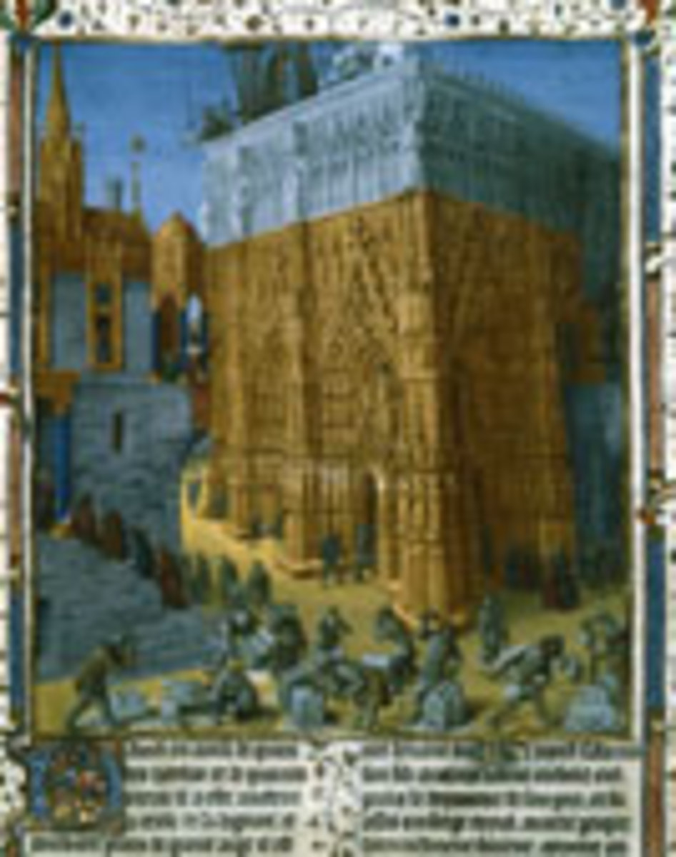 The Main Events in the Book of First Kings