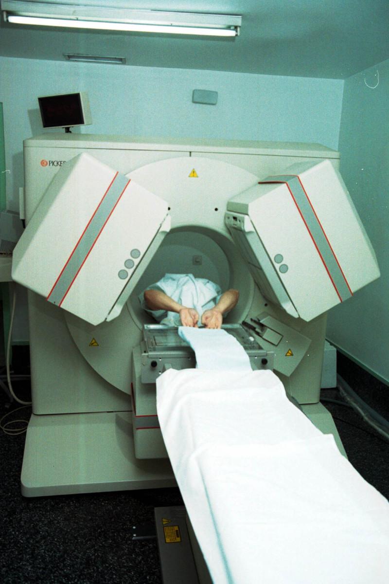 A typical MRI.
