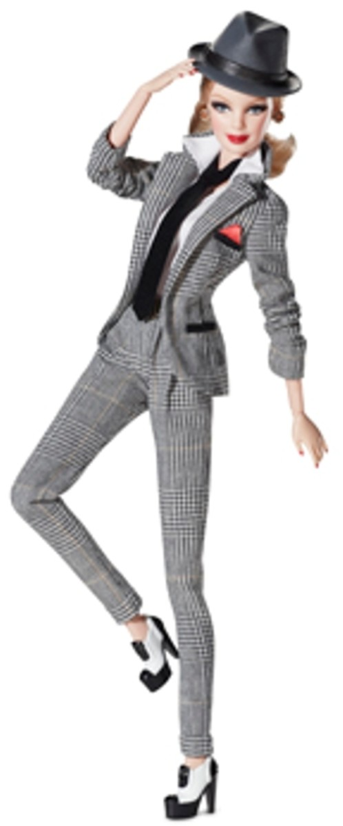 tribute to Frank Sinatra Barbie Doll
