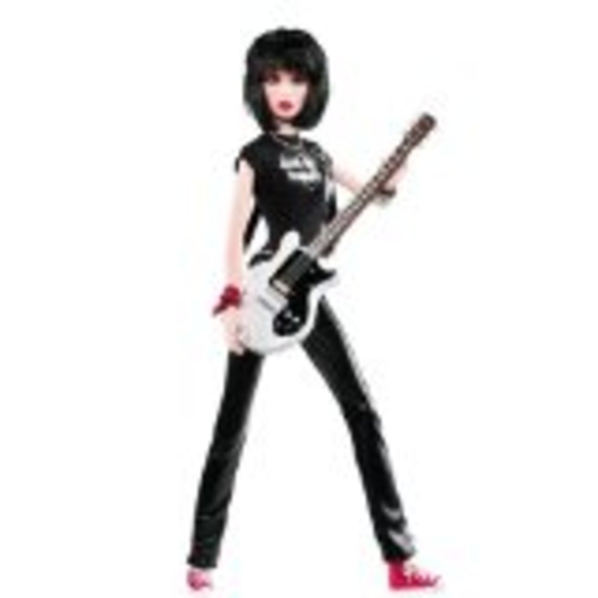 Joan Jett Celebrity Barbie Doll