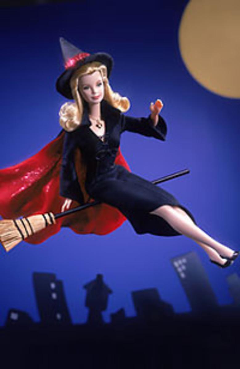 Bewitched Barbie hi.baidu.com Celebrity Barbie Doll